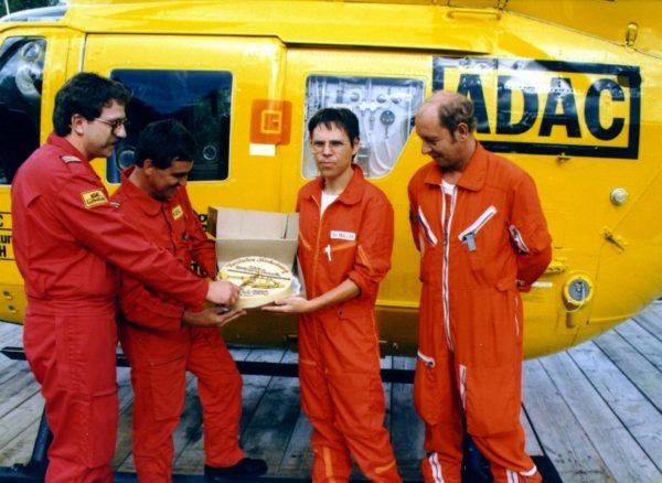 200. Einsatz in einem Monat, August 1985